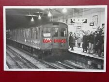 PHOTO  LONDON TRANSPORT UNDERGROUND TUBE  - CP STOCK AT EALING BROADWAY