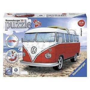 Ravensburger VW Kombi Bus 3D Model 162 Piece Jigsaw Puzzle