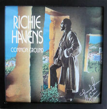 "Richie Havens Signed COMMON GROUND 12"" LP Vinyl Album FRAMED JSA"