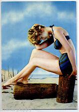 PIN UP Sexy Beach Girl PC Circa 1960 Real Photo Ragazza in Bikini 48