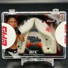 2013 Topps UFC Finest John Dodson GRILL GEAR Fighter Worn Mouthpiece Relic 1/1