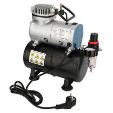 Profi Airbrush Kompressor Luft Kompressoren 1/6 PS Einzylinder Abschaltautomatik
