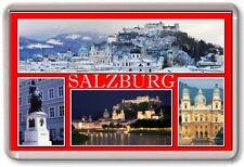 FRIDGE MAGNET - SALZBURG - Large - Austria TOURIST