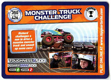 Monster Truck #350 Top Gear Turbo Challenge Trade Card (C362)