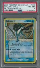 Suicune - Gold Star Rare - Unseen Forces - 115/115 - PSA 8 - Pokemon
