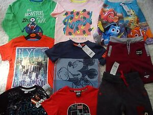 AMAZING 23x SUMMER AUTUMN NEW BUNDLE OUTFITS BOY CLOTHES 3/4 YRS 4+YRS (2.5)