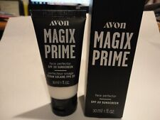 AVON MAGIX PRIME FACE Perfector SPF 20 colorless SKIN PERFECTING PRIMER makeup