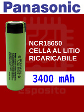 Panasonic NCR18650B pila ricaricabile 3400 mAh