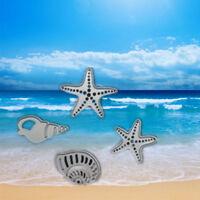 4Pcs DIY Conch Metal Sea Star Embossing Stencil Craft Cutting Dies Scrapbooking