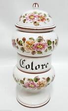 Vaso farmacia in ceramica colore anni 50