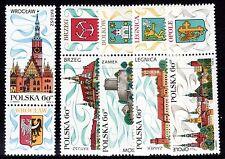 Poland - 1970 Tourism - Mi. 2001-05 MNH