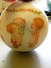 Betsey Clark Glass Ornament 1974 Vintage-Christmas Music
