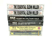 Lot of 6 Glenn Miller Cassettes Tape , Pure Gold , In The Digital Mood, ...
