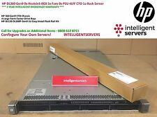 HP DL360 Gen9 0x Heatsink 0GB 5x Fans 0x PSU 4LFF CTO 1u Rack Server
