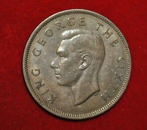 1948 New Zealand Half Crown  W341