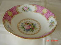 1944- ROYAL  ALBERT BONE CHINA LADY CARLYLE OATMEAL  BOWL NEW