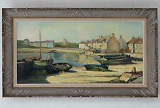 Magnifique Peinture Post-Impressionniste de René Bondenet, Huile sur panneau
