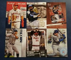 2020 Topps Series 2 Inserts 2030 WOD Significant Stats Tatis Trout Alonso U Pick