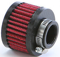 NEW Uni - UP-107 - Clamp On Breather Filter, 1in ID  MOTORCYCLE ATV CAR TRUCK