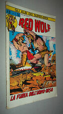 ASE N. 31 ** RED WOLF N. 3 **  ED. CORNO ORIGINALE