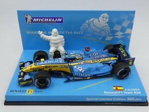 Minichamps 1:43 Fernando Alonso Renault R26 F1 2006 Michelin Edition 960 pcs.