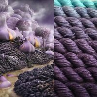 GRADIENT YARN - merino wool handdyed yarn 200 g- hand painted sock, shawls