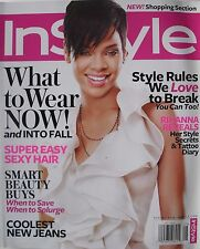 RIHANNA August 2008 ELLE Magazine YVES SAINT LAURENT  ALBERA FERRETTI