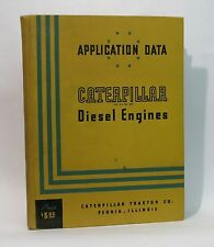 "Application Data ""Caterpillar"" Diesel Engines by *"