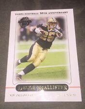 Deuce McAllister (Saints) #57 Topps 50th Anniversary 2005