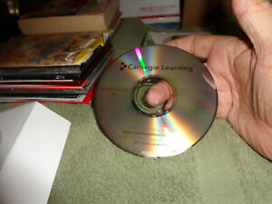 carnegie learning remote access cd untested,disc only in sleeve