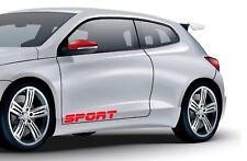 2X SPORT RACING CUSTOM CAR VAN WINDOW WALL VINYL DECAL STICKERS CUSTOM TUNING