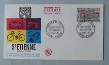 FDC France lettre 1er jour 1243 Musée d'art et d'industrie 20 février 1960