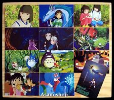 Ghibli Miyazaki Anime Mon Voisin TOTORO Lot de 12 Cartes Postal I となりのトトロ