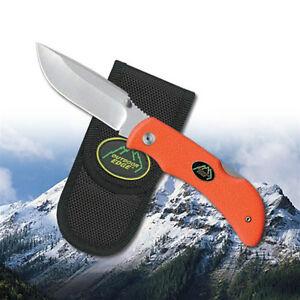 NEW Outdoor Edge Grip-Blaze Folding Knife Orange GB-20C