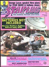 STARLOG # 127 MAGAZINE HORROR SCI-FI MOVIE RAY HARRYHAUSEN DR WHO TWILIGHT ZONE
