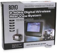 "BOYO VTC700R 2.4GHz Digital Wireless Rear View Night Vision Camera w/ 7"" Screen"