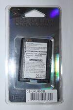 CAMERON SINO  Batterie pour LG KE900, KU900, KU900 Viewty - CS-LKU900SL