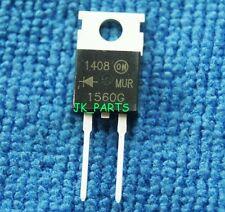 5pcs New MUR1560G MUR1560 15A 600V UltraFast Rectifier Diode TO-220