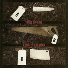 "Three Victims ""Exhibits A, B and C"" CD [AUSTRALIA BRUTAL DEATH SLAM GRIND]"