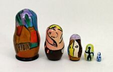 5 pcs. Russian Nesting Doll after Pablo Picasso #3670