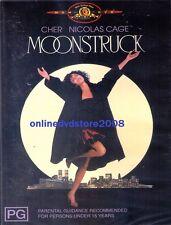 MOONSTRUCK (CHER, Nicolas CAGE) Romantic COMEDY Film DVD (NEW SEALED) Region 4
