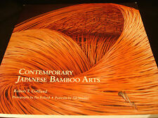 JAPANESE REFERENCE BOOK / CONTEMPORARY JAPANESE BAMBOO ARTS