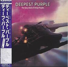DEEP PURPLE- DEEPEST PURPLE JAPAN OBI LIMITED EDITION GREATEST HITS CD