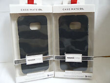 (Lot of 2) Case-Mate Samsung Galaxy S6 Edge+ Plus Black Tough Stand Cover Cases