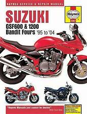Suzuki Motorcycle Repair Manuals & Literature 2002