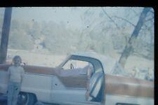 #5 35mm slide - Vintage - Collectibles - Photo - cute girl car open door