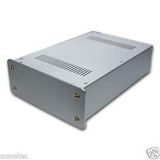 """SL1494S 10"""" DIY FULL Aluminum Audio chassis Audio Amplifier Chassis Enclosure"""