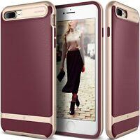 Caseology Apple iPhone 8 Plus Case (2017) iPhone 7 Plus Case Wavelength Burgundy
