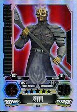 Star Wars Force Attax Series 3 Card #233 Savage Opress