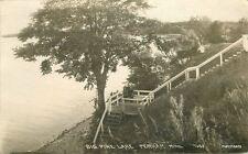 1922 Otter Tail County Big Pine Lake Perham Minnesota Rppc real photo 7628